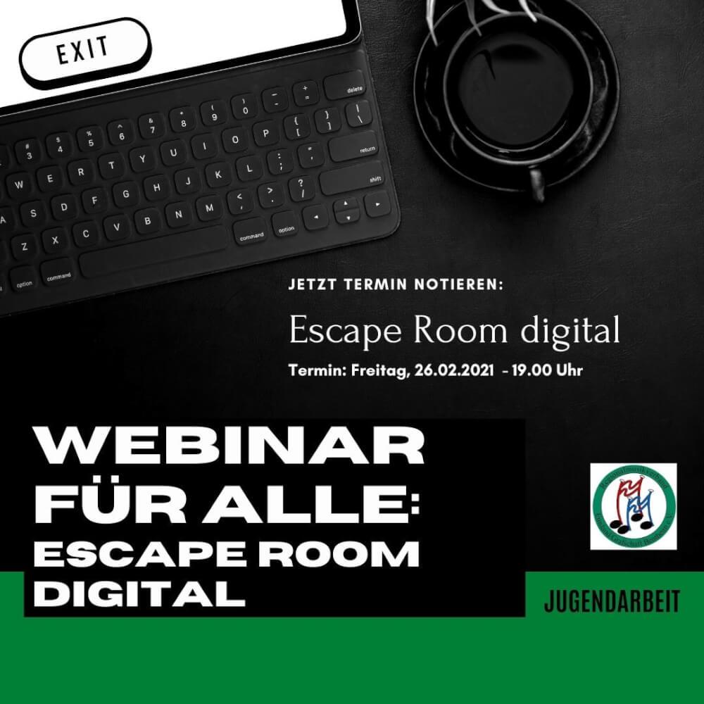Escape-Room, Gruppenstunde digital